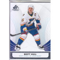 2012 - 2013 Sp Game Used Retired Brett Hull Rw Blues