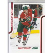 2011-2012 Score Glossy Brad Staubitz Rw Minnesota Wild Nhl