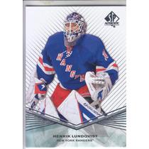 2011 - 2012 Sp Authentic Henrik Lundqvist New York Rangers