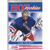 2011-2012 Score Hot Rookies Cam Talbot G New York Rangers