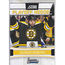 2011-2012 Score Playoff Heroes Nathan Horton Boston Bruins