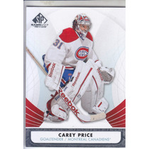 2012 - 2013 Sp Game Used Carey Price G Montreal Canadiens