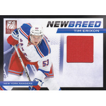 2011 - 2012 Elite New Breed Jersey Tim Erixon N Y Rangers