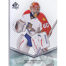 2011 - 2012 Sp Authentic Jose Theodore G Florida Panthers