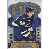2011-12 Crown Royale Rookie Cade Fairchild D St Louis Blues