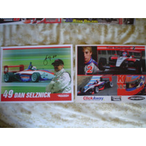 Dan Selznick Tom Sutherland Foto Autografiada Champ Car