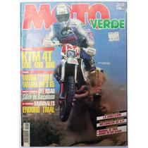 Moto Verde # 179 Revista De Motociclismo 1993 Enduro Trial
