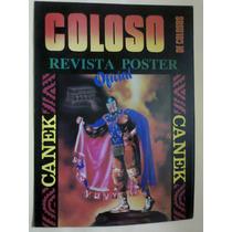 Revista Poster Lucha Libre México Canek Original Años 90s