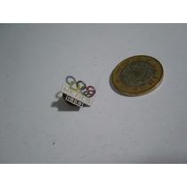 Antiguo Pin Prendedor México 68 Olimpiadas Aros Olímpicos