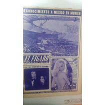 Periódico Antiguo El Figaro Juegos Olímpicos Munich 1972