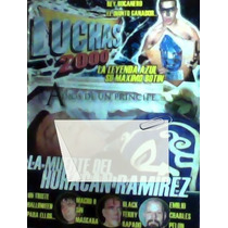 Revista Muerte De Luchador Huracan Ramirez,!!!