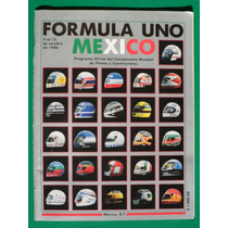 1986 Programa Oficial Gran Premio De Mexico De Formula Uno