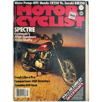Motor Cycle Marzo 1982 Revista De Motociclismo Kawasaki