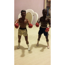 1992 Hasbro Joe Frazier & Muhammad Ali Leyendas Del Boxeo