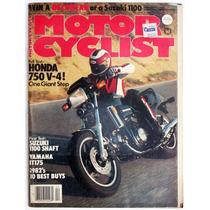 Motor Cycle Abril 1982 Revista De Motociclismo Honda Suzuki