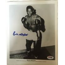Fotografia Autografiada Firmada Emile Griffith Box Boxeo