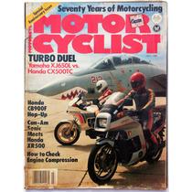 Motor Cycle Julio 1982 Revista De Motociclismo Honda