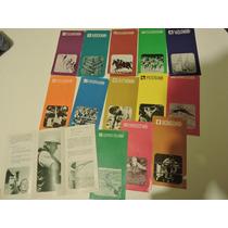Olimpiadas 1968 México Folletos Trípticos