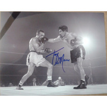Fotografia Autografiada Firmada Tony Demarco Box Boxeo