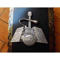 Hard Rock Cafe Pin - Guitarra Y Bocinas 3d Orlando