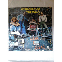 Disco Lp Who Are You The Who Keep Clear