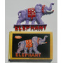 Vintage Elefante Rompecabezas Adorno Iman Para Refrigerador