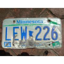 Placa Americana De Minnesota 1994 Vv4