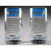 Vaso De Botella De Vidrio Ecológicos Y Reciclables Absolut