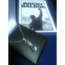 Dije Rocky V Balboa Guante Box Plata 0.925 Envio Gratis Igo