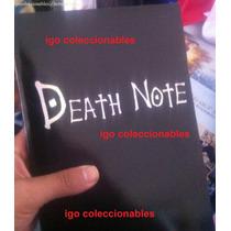 Cuaderno Death Note Ingles Español Igo Coleccionables!