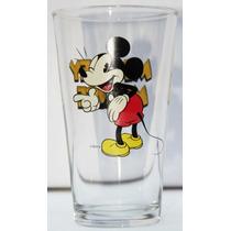 Vasos Mickey Mouse 1 Paquete De 4 Vidrio Transparente Libbey