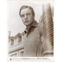 Foto Original Marlon Brando Un Tranvia Llamado Deseo 1951