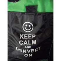 Preciosa Bolsa Termica Aislante Keep Calm And Convert On