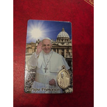 Medalla Papa Francisco Vaticano Italia Recuerdo Roma Colgant