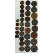 33 Monedas Antiguas Mexicanas Impecable Por Lote Compara Op4