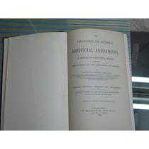 Antigüedad Para Médicos Libro Acuerdo De Anestesia 1855