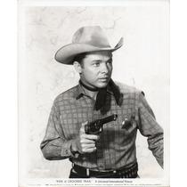 Fotografía Original Ride A Crooked Trail Audie Murphy 1958