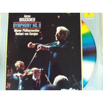 Anton Bruckner Laser Disc Symphony No.8 In C Minor