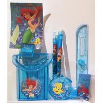 La Sirenita Ariel Disney Set De Lujo / Nuevo Original