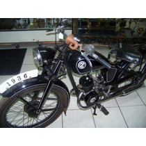 Moto Jawa De 1936 Restaurada