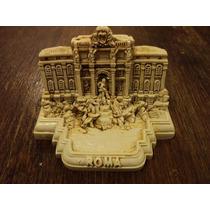 Fontana Trevi Italia Roma Recuerdo Miniatura Italiana Nueva