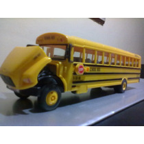 Autobus A Escala 1.43 Linea School Bus De Coleccion