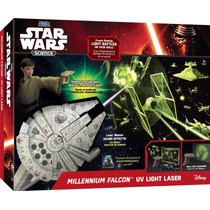 Uncle Milton Halcon Milenario Proyector De Escenas Star Wars