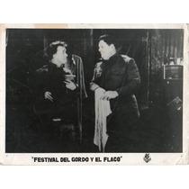 Fotografía Stan Laurel Oliver Hardy El Gordo Y El Flaco