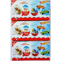 3 Cajas (9) Huevos Alegría Sorpresa De Chocolate Por Un Much