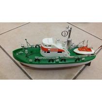 Barco De Pilas Antiguo De Plastico