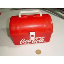 Vintage Lonchera Coca Cola En Plástico