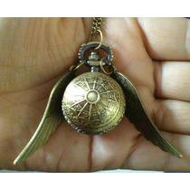 Harry Potter Collar Reloj Snitch Dorada Reloj Envío Gratis