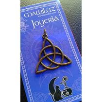 Dije Triqueta Vintage Mawiluz Wicca Celta Bruja
