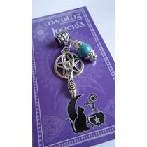 Dije Pentaculo De La Diosa Mawiluz Wicca Celta Bruja